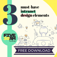 3 must-have intranet design elements